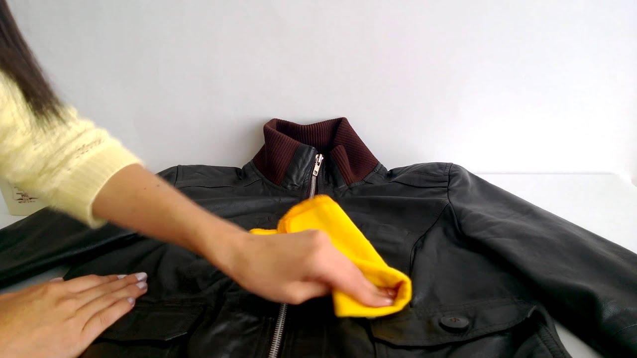 Como limpiar una chaqueta de cuero roja