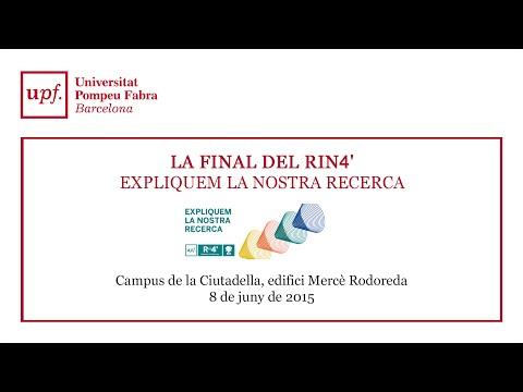 Final Rin4'. Research in 4 minutes. Expliquem la nostra recerca.