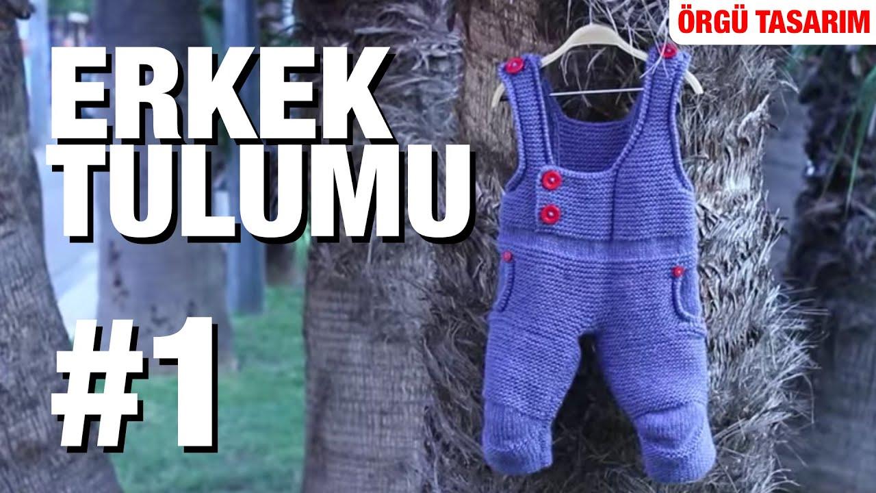 Kapüşonlu Bebek Tulumu Yapılışı Videolu Anlatımlı