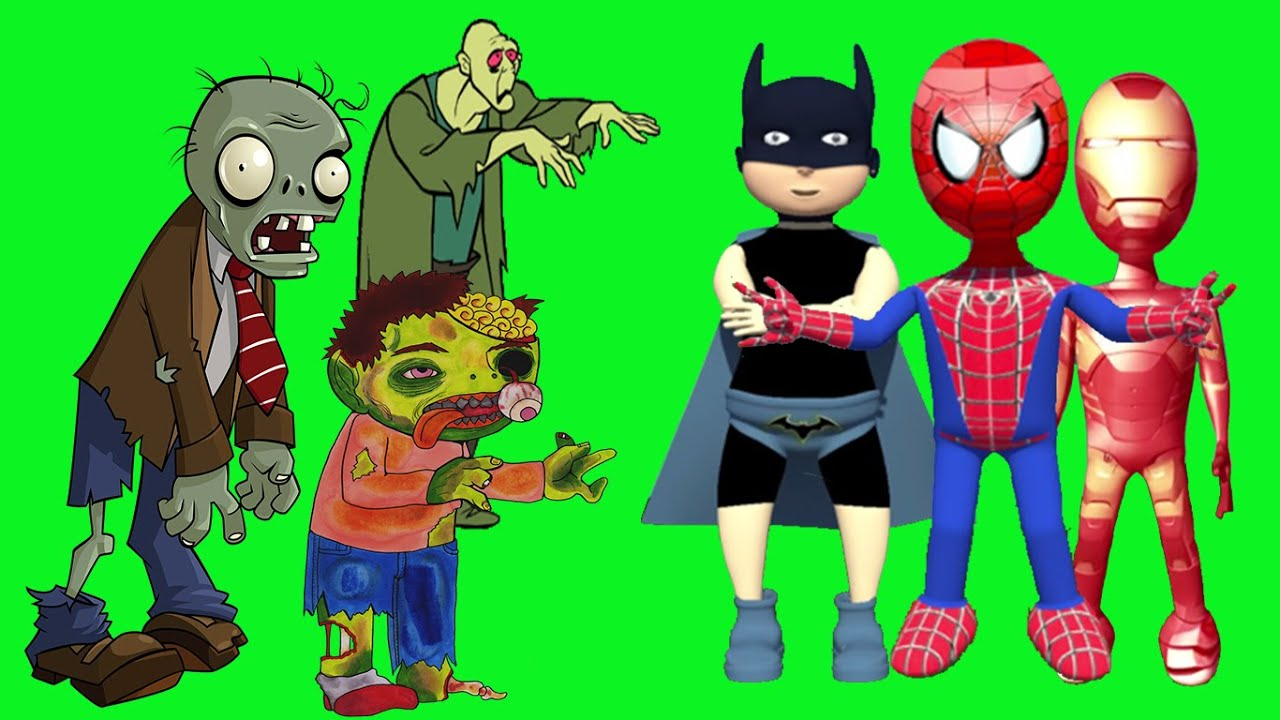 spiderman vs hulk vs iron man batman adamantium vs zombie