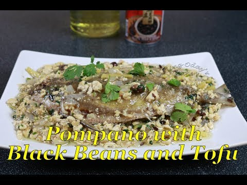 Pompano With Black Beans And Tofu (Totcho)