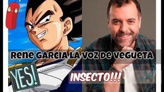 René García la voz de Vegeta- Tsunami Mérida =D