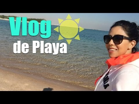 De playa en Doha.