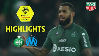 AS Saint-Etienne - Olympique de Marseille ( 2-1 ) - Highlights - (ASSE - OM) / 2018-19