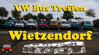 VW Bus Treffen in Wietzendorf 2018
