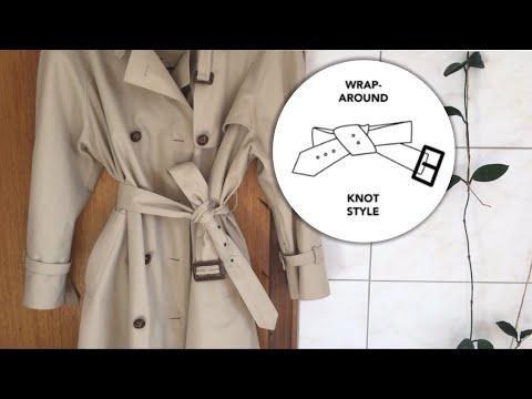 Trenchcoat hübsch binden | 5 Style-Trends