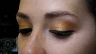 "Golden Orange ""Look for Blue Eyes Tutorial"" ""Eye Color Series"" Thumbnail"