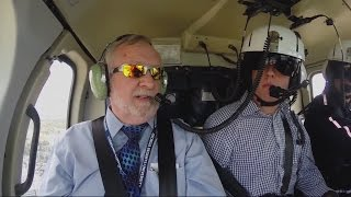 Exclusive on 6: Helicopter Flyover With Dr. Brooks Keel About Future of University