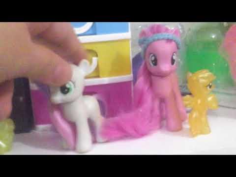 Minişlerle ponyler buluşuyor tanışıyor bol macera (part 2)