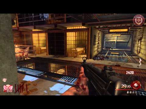 Black Ops 2: Zombies  Grief: Cell BlockPabellon Mob of the Dead  1 vs 4 ¡Partida epica