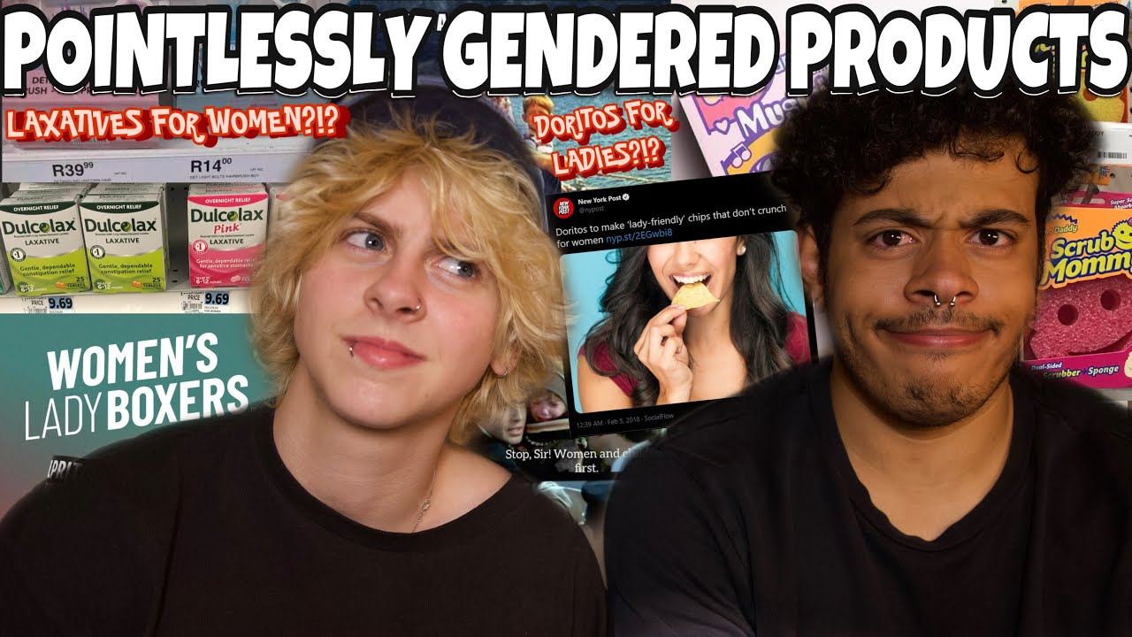POINTLESSLY GENDERED PRODUCTS?! | NOAHFINNCE + NOTCORRY