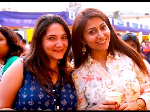 Mumbai Fusion Food and Street Shopping at Kala Ghoda Arts Fest 2016 (Episode 1)
