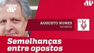 O teste das quatro perguntas mostra as semelhanças entre opostos | #AugustoNunes