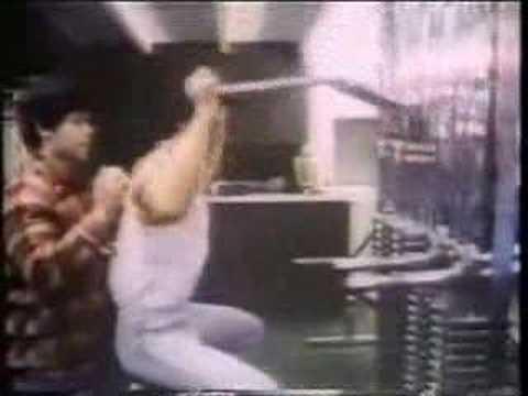 Sylvester Stallone - Training für Rocky 3 -BTS-