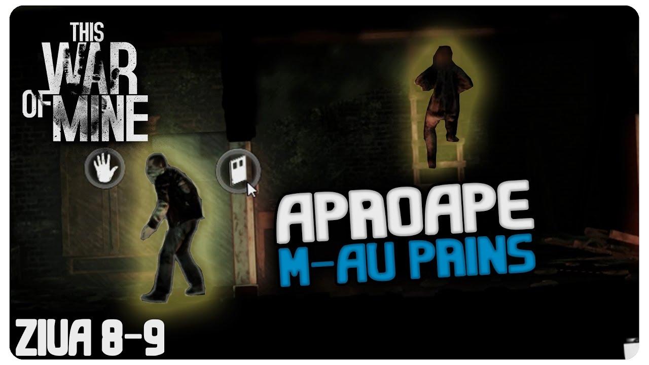 Aproape m-au prins | Ziua 8-9 | This War of Mine Romania