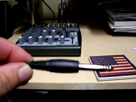 Sound card hook up