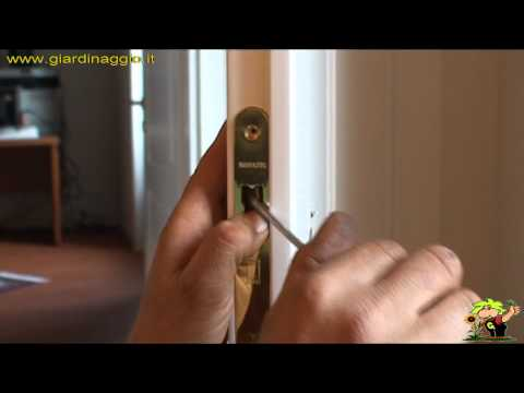 Come cambiare un cilindro di una serratura doovi - Come cambiare serratura porta interna ...