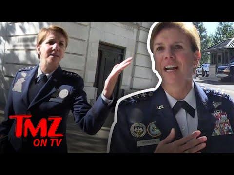 Meet Lori Robinson The Highest Ranking Female General | TMZ TV