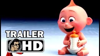 INCREDIBLES 2 Official Trailer Teaser #3 + First Trailer (2018) Pixar Animated Superhero Movie HD