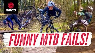 The Funniest Mountain Bike Fails Of The Month | GMBN
