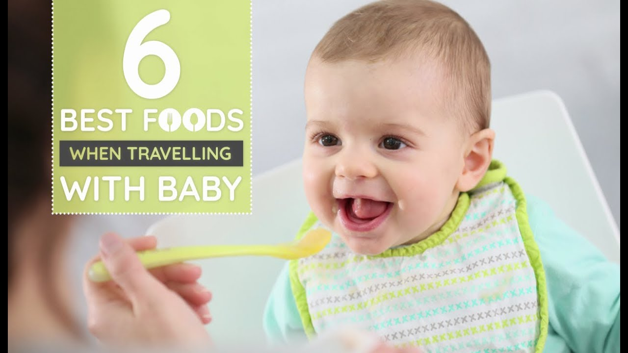 How to feed a child traveling