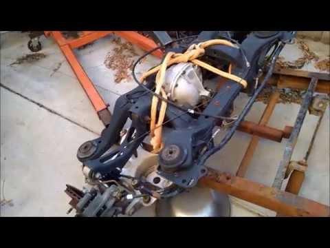 1956 F100 - Crown Victoria IFS install / Mark VIII IRS Swap - Part 4