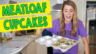 HOW TO MAKE MEATLOAF CUPCAKES  Grace Helbig