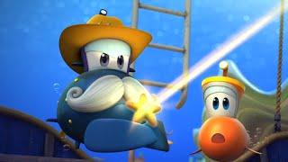 Мультфильм - Марин и его друзья - Подводные истории - Аквавилль в опасности. Часть вторая