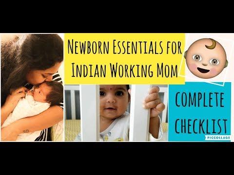 newborn-baby-essentials-for-working-mom-with-subtitles-|-complete-newborn-checklist-|-0---3-months