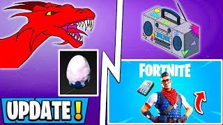 'ALL' Fortnite 7.10 Secrets! Dragon Coming, Pack Skin Gratuit, Saison 1 Nouvelle LTM!