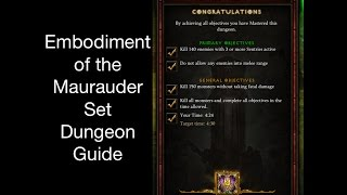 diablo 3 embodiment of the marauder set dungeon guide patch 2 4 2 season7