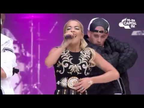Rita Ora  I Will Never Let You Down Summertime Ball 2015