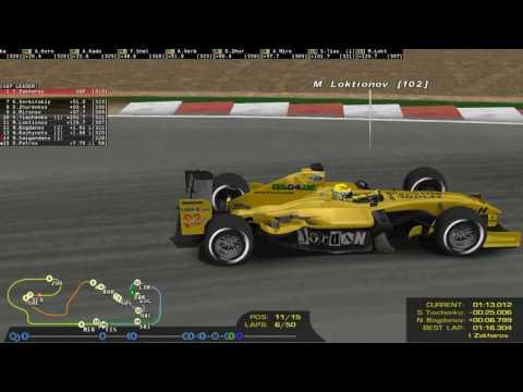 Трансляция Ф1 2004 БП Испании на сайте Гонки.МЕ