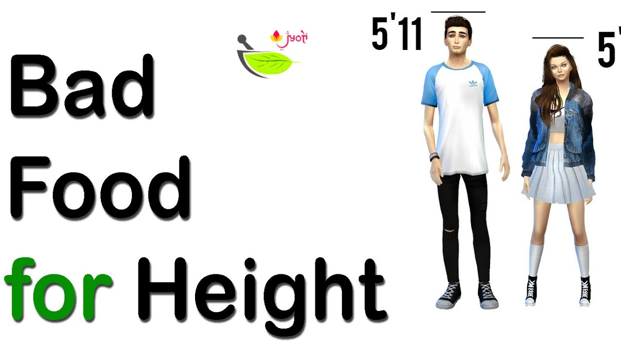 Bad Food for Height | Bad Diet for Increasing Height ...