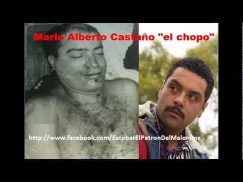 """""""El Chopo"""" Mario Alberto Castaño, Jefe Militar Pablo Escobar"""