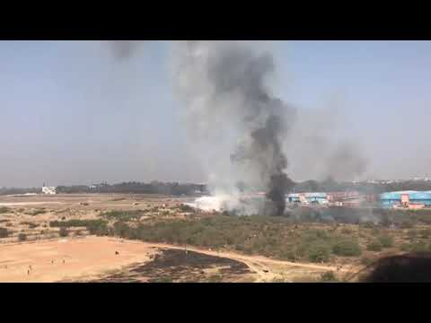 Plane Crash | HAL Airport | Bangalore | Feb 1st 2019 | Mirage 2000