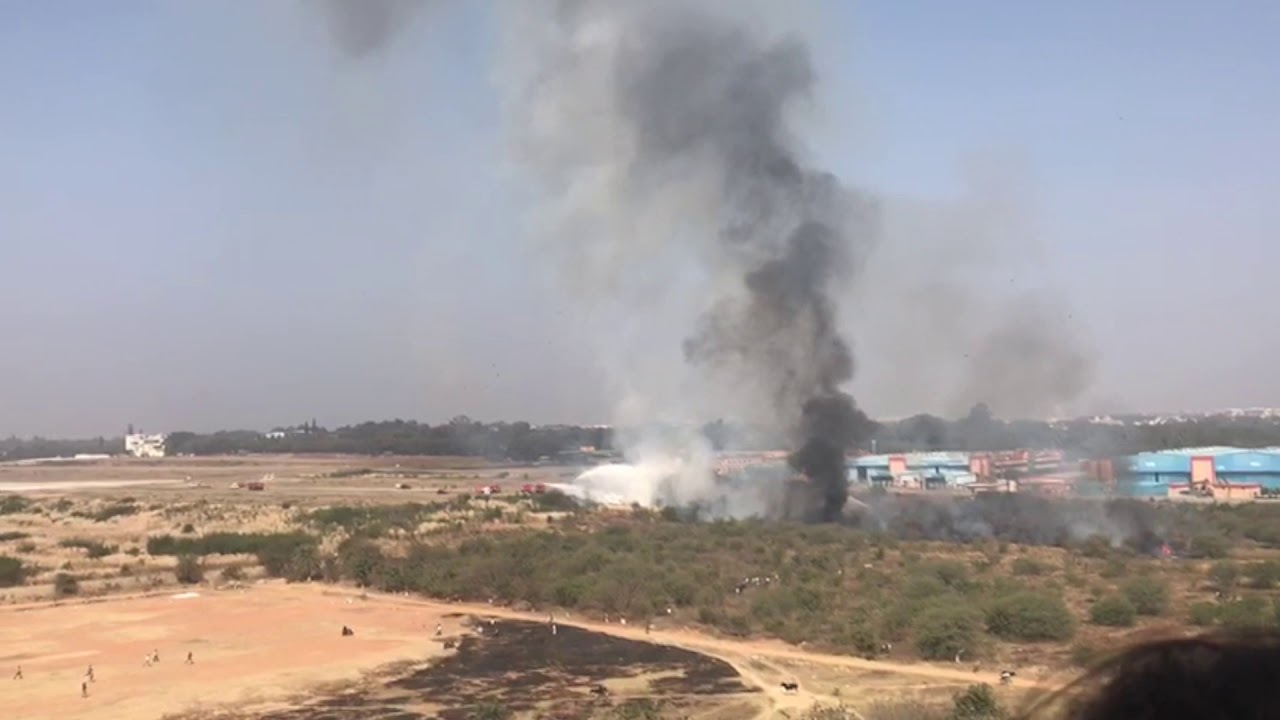 Plane Crash | HAL Airport | Bangalore | Feb 1st 2019 | Mirage 2000