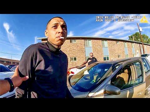 Las Cruces Police Arrest Man Smoking Crack in Parking Lot