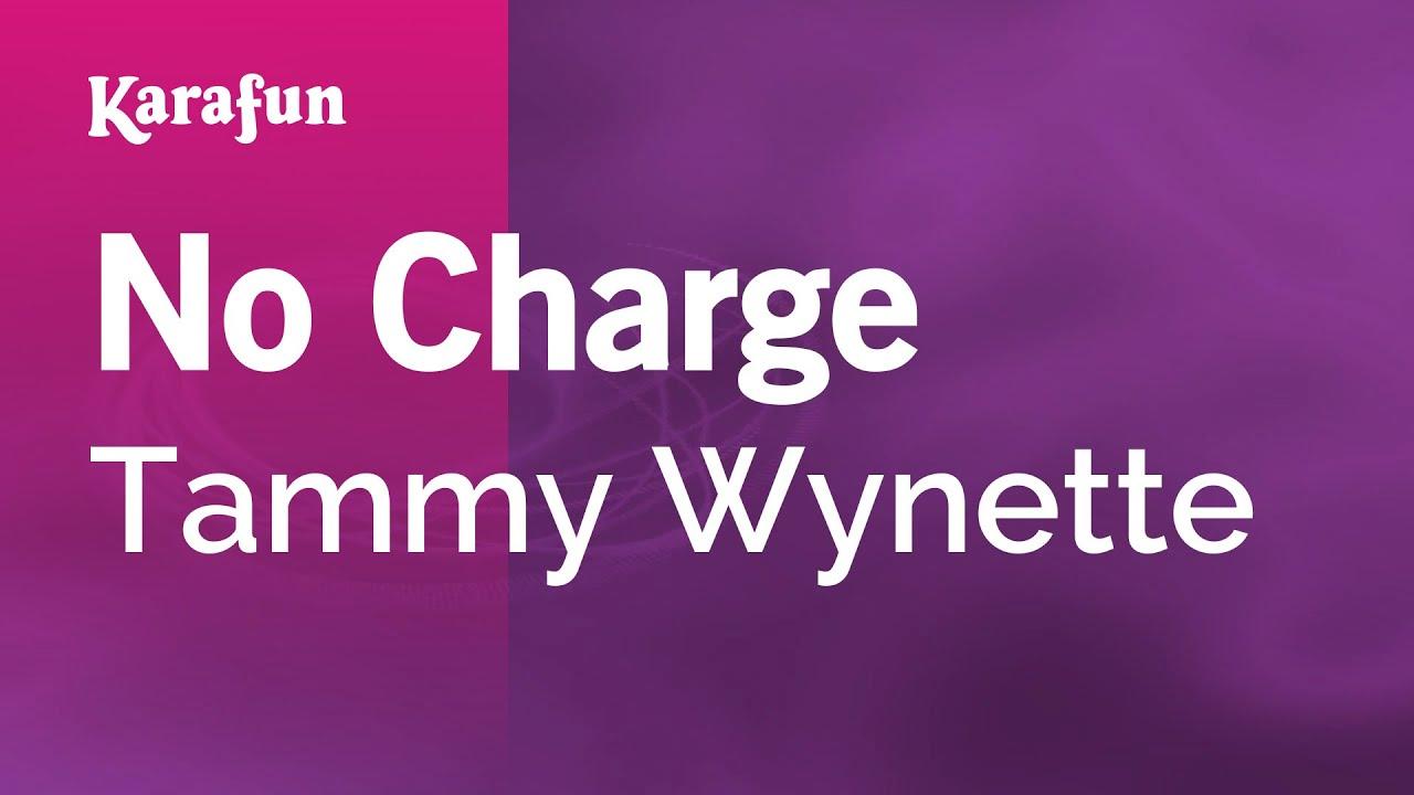karaoke no charge - tammy wynette * - youtube