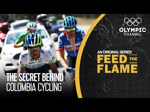 The Secret Food Behind Colombia's Cycling Success   Feed The Flame
