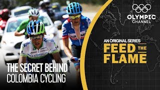 The Secret Food Behind Colombia's Cycling Success | Feed The Flame