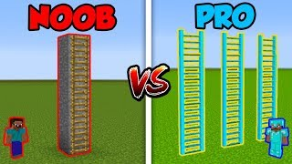 Minecraft NOOB vs. PRO: LADDER! | AVM Shorts Animation