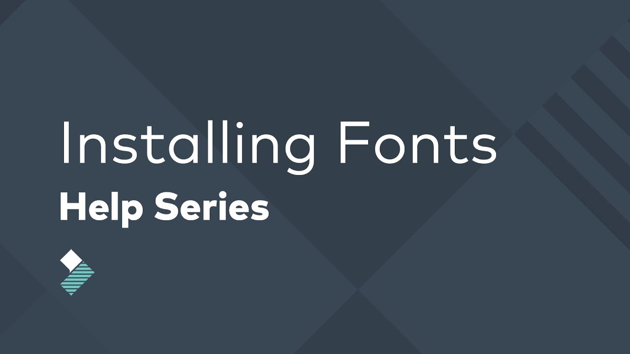 How to Install Custom Fonts in Filmora