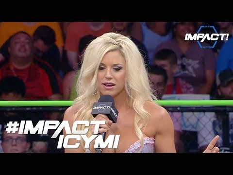 Taryn Terrell on Costing Gail Kim The Knockouts Championship | #IMPACTICYMI August 24th, 2017