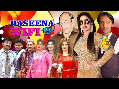 Haseena Wifi Trailer 2019 Agha Majid and Nida Choudhary With Saleem Albela Stage Drama 2019