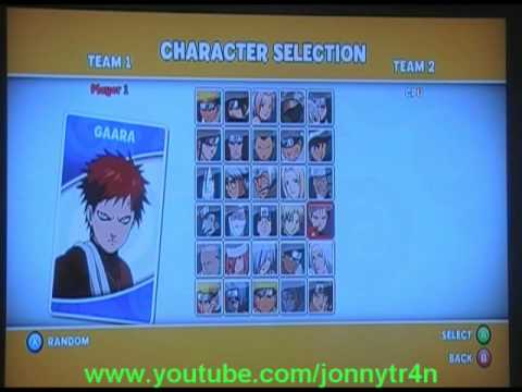 Naruto The Broken Bond All Characters NEW Xbox 360  YouTube