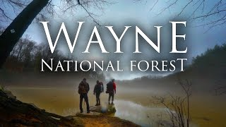 Wayne National Forest in 4K | Best Ohio Backpacking | Bushcraft, Hiking, & Camping Lake Vesuvius