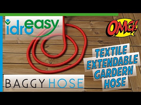 Baggy Hose Expandable Textile Hose By Idroeasy Youtube