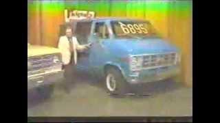 1977 Friendly Chevrolet Van Commercial