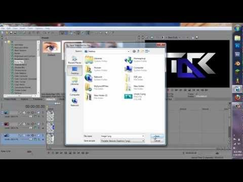 How to Make a Logo in Sony Vegas Pro 13/12
